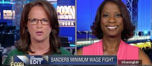 Deneen Borelli on Sanders Cutting Staff Hours for $15 Minimum Wage Target on Fox Business