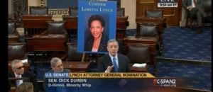 Fill In The Blank: Senate GOP Fails To Hold Full Senate Vote On Loretta Lynch Because She Is ------